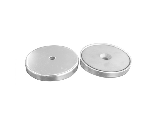 Ceramic Ferrite Pot Magnet Ø90mm x 12mm - 10mm Countersunk Hole