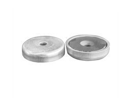 [10440] Ceramic Ferrite Pot Magnet Ø40mm x 8mm - 5.5mm Countersunk Hole