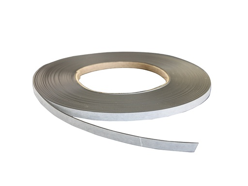 Magnetic Strip - Self Adhesive 12.7mm x 1.5mm - 7.6m roll
