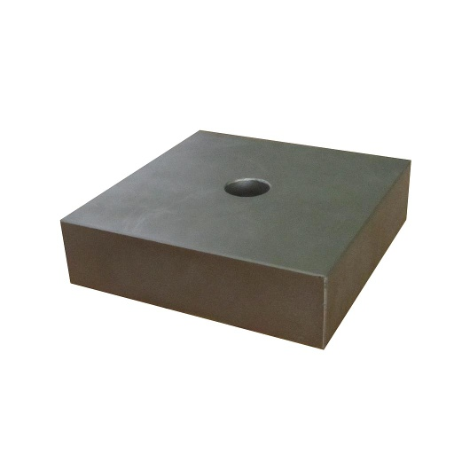 Neodymium Block Magnet 150mm x 150mm x 40mm N42 with 25.5mm hole