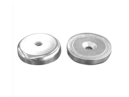 [10346] Neodymium Pot Magnet Ø32mm x 8mm - 5.5mm Countersunk Hole