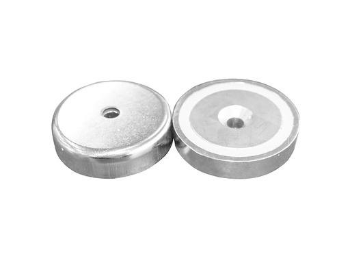 Neodymium Pot Magnet Ø60mm x 15mm - 8.5mm Countersunk Hole